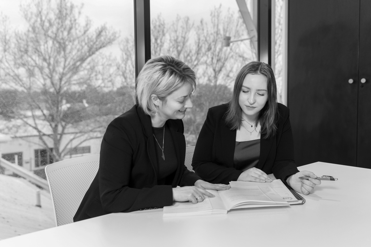 Image of Catherine Martin and Susan Sadler for Red Wagon Workplace Solutions